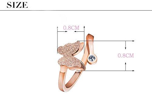 Silber Ringe Zirkonia Modeschmuck für Frauen Charmant Damen Ringe Ringegröße justierbar