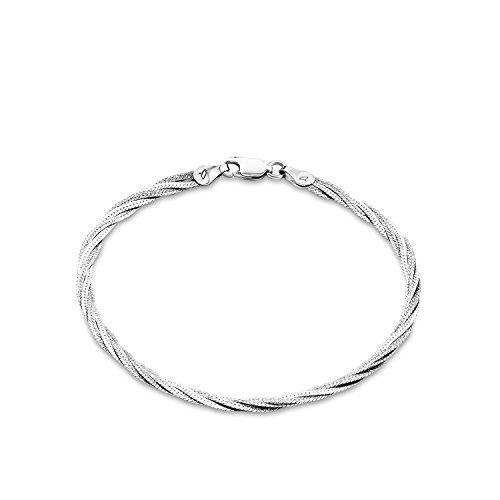 Amor Damen-Armband 925 Silber rhodiniert 19 cm - 388078