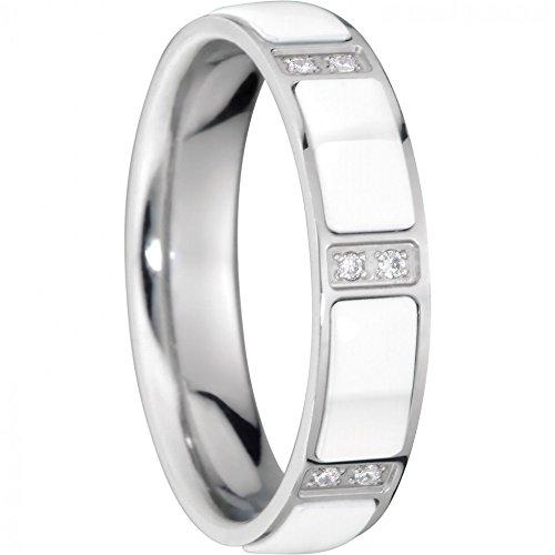 BERING Ring/Innenring Edelstahl/Keramik mit Zirkonia breit RG 63 503-15-82