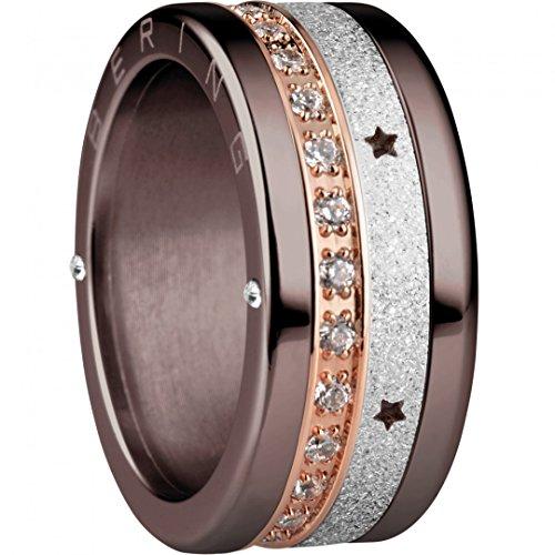 BERING Schmuck Damen Ring Set Kombinationsring Arctic Symphony Collection asc209, Größe:6