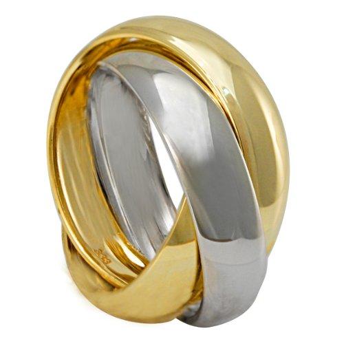 Bella Donna Damen-Ring 333 Bicolor 50 635371
