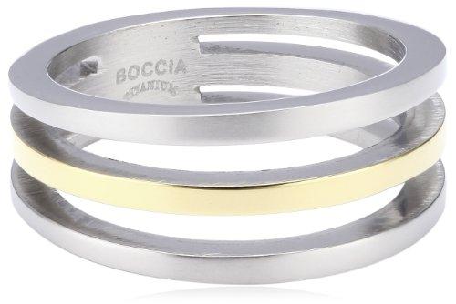 Boccia Damen-Ring Titan Bicolor Gr.50 0128-0250
