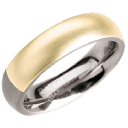 Boccia Damen-Ring Titan Bicolor Gr.52 0102-0452
