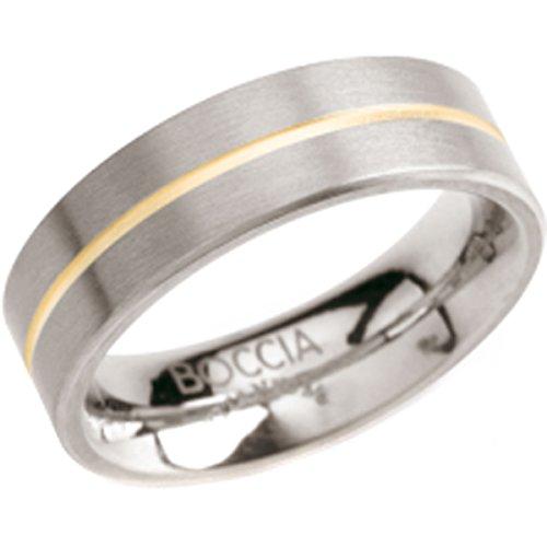 Boccia Damen-Ring Titan Bicolor Gr.54 0101-0354