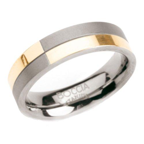 Boccia Damen-Ring Titan Bicolor Gr.57 0101-1057