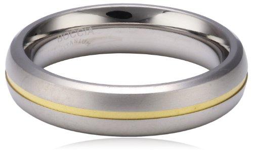 Boccia Damen-Ring Titan Bicolor Gr.61 0102-0361