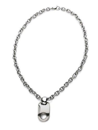 Breil Halskette Fashion BILUX Stahl ca.50cm Anhänger 17x40 mm TJ0634