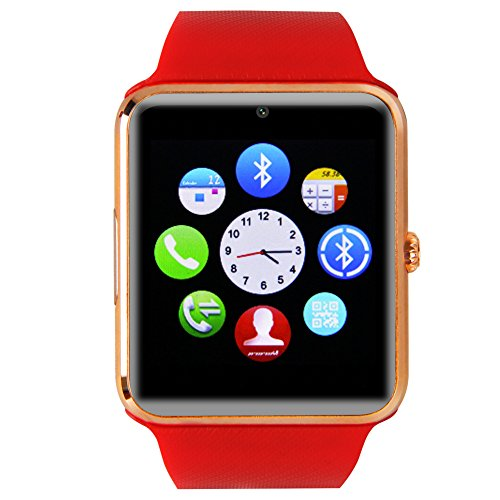 buyee gt08 bluetooth smartwatch handy uhr f r smartphone. Black Bedroom Furniture Sets. Home Design Ideas