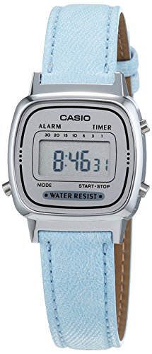 Casio Collection Damen-Armbanduhr Collection Digital Quarz Kunstleder LA670WEL-2AEF
