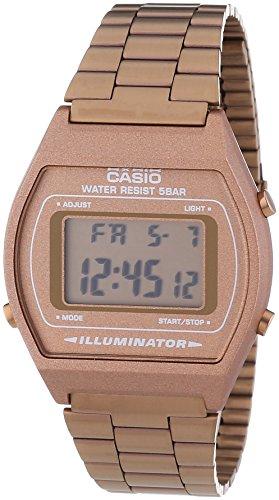 Casio Unisex-Armbanduhr Digital Quarz Edelstahl B640WC-5AEF