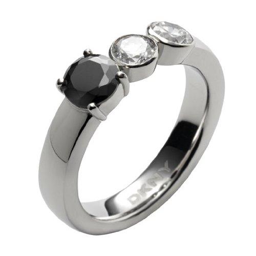 DKNY Damen Ring, Edelstahl, 56 (17.8), NJ1534040