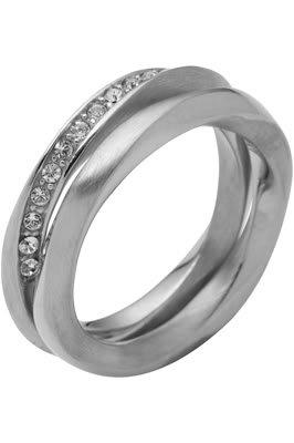 DKNY Damen Ring, Edelstahl, 56 (17.8), NJ160304056