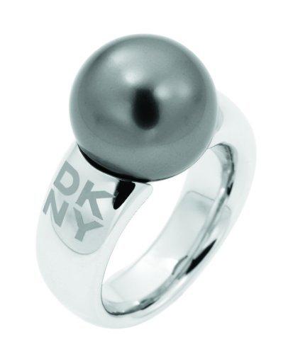 DKNY Damen Ring, Edelstahl, 60 (19.1), NJ1352