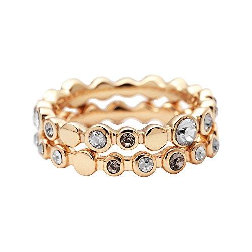 DKNY Damen-Ring Edelstahl Gr. 53 (16.9) NJ1694040-6.5