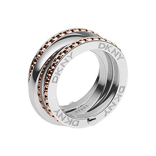 DKNY Damen-Ring Edelstahl Gr. 53 (16.9) - NJ2079931-6.5