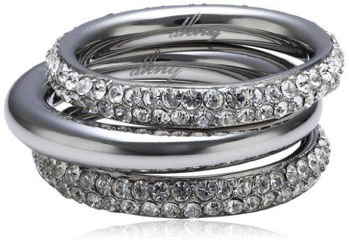 DKNY Damen-Ring Spring 2013 Edelstahl Silber Zirkonia NJ1958040-8