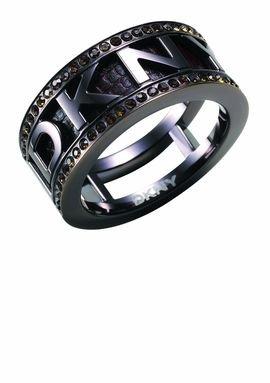 DKNY Schmuck NJ1155040503 DONNA KARAN NY Ring NJ1155 Edelstahl Gr.16 NEU