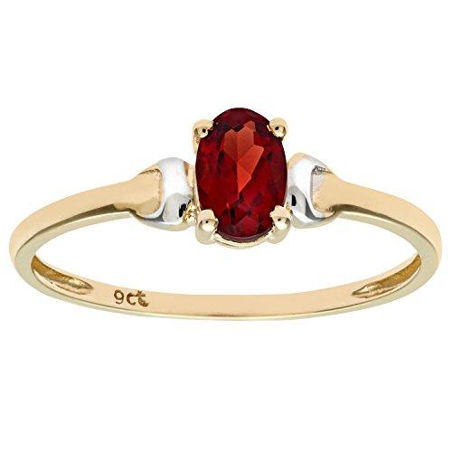 Damen-Ring 9 Karat (375) Bicolor Gr. 52 (16.6)  Peridot PR 2367PDS