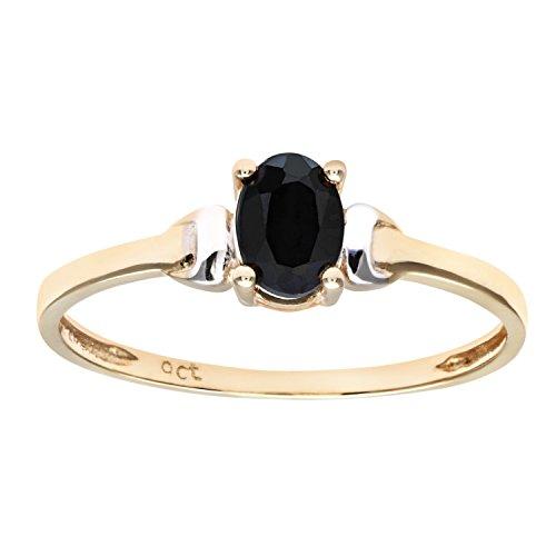 Damen-Ring 9 Karat (375) Bicolor Gr. 59 (18.8)  Zirkonia PR 2367CZRUN
