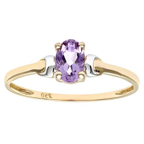 Damen-Ring 9 Karat (375) Bicolor Gr. 63 (20.1)  Zirkonia PR 2367CZRUU