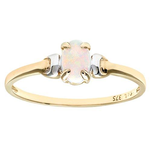 Damen-Ring 9 Karat (375) Bicolor Gr. 63 (20.1)  Zirkonia PR 2367TQN