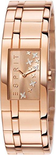 Esprit Damen-Armbanduhr Analog Quarz Edelstahl beschichtet ES107292002