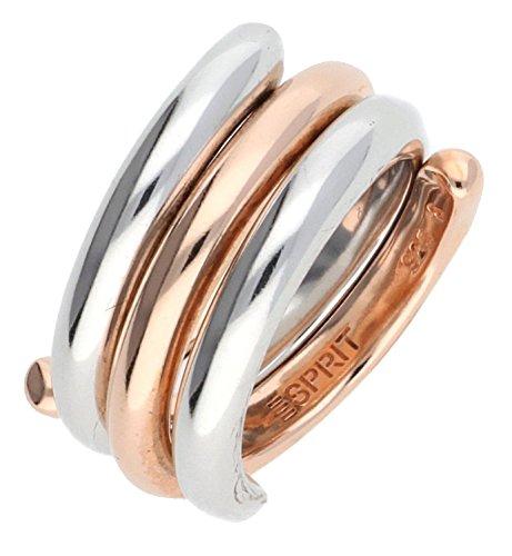 Esprit Swiveled Bicolor Damen-Ring 56/17,8 SE90969B180