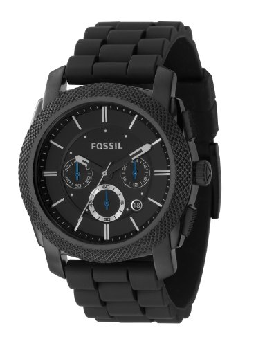 FOSSIL Herren-Armbanduhr  Men's Dress Chronograph Analog Quarz FS4487