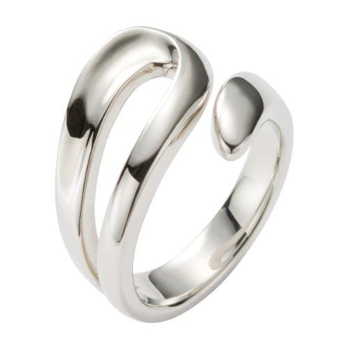 FOSSIL  JF85155040 Damen Ring Edelstahl 17