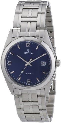 Festina Herren-Armbanduhr XL Analog Quarz Edelstahl F8825/2
