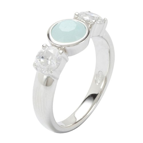 Fossil Damen-Ring 925 Sterling Silber Gr. 60 (19.1) JF17936040-9