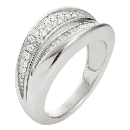 Fossil Damen-Ring 925 Sterling Silber JFS00037040-5.5 Gr. 50 (15.9)