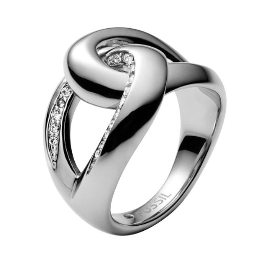 Fossil Damen-Ring Edelstahl Gr. 50 (15.9) JF00163040-5.5
