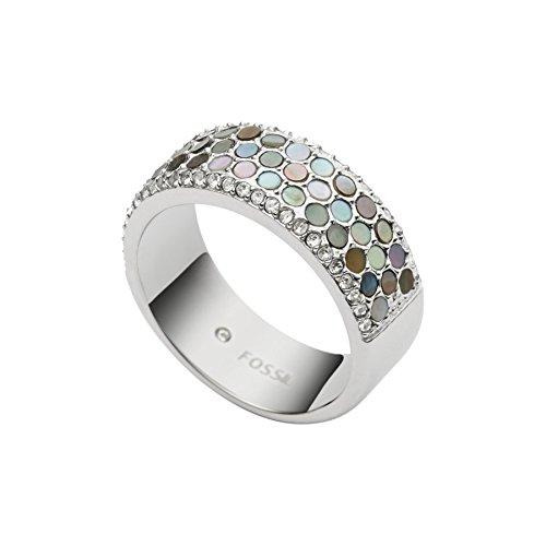 Fossil Damen-Ring Edelstahl Silber JF02313040510 - 60