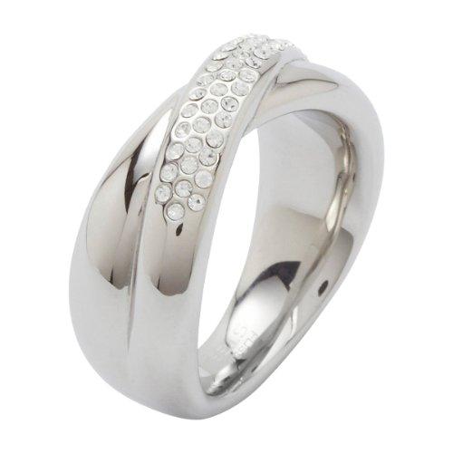 Fossil Damen-Ring Glassteine Gr.16 JF86501040