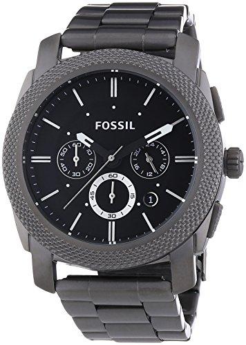 Fossil Herren-Armbanduhr Dress Smoke Ip Quarz Analog FS4662