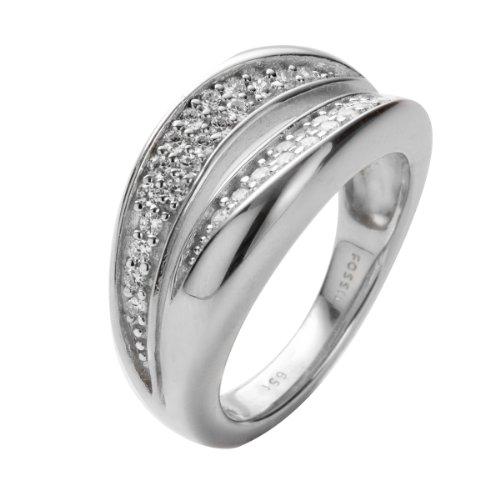 Fossil Jewelry Damen-Ring Silber 925 Gr.17 JFS00037040 17
