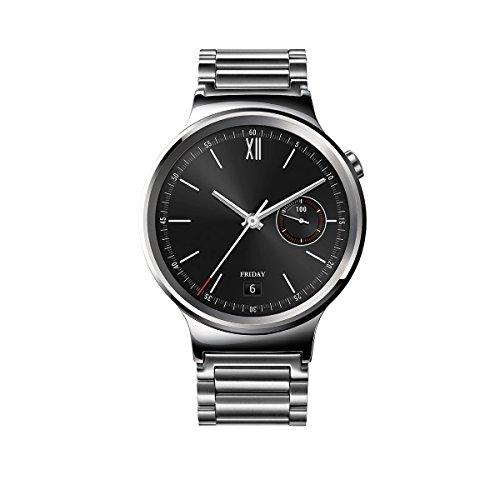 Huawei Watch Classic mit Gliederarmband in silber