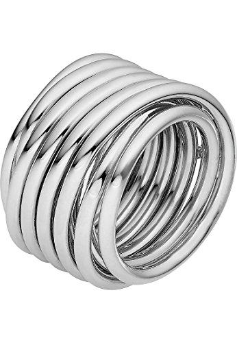 JETTE Silver Damen-Ring 925er Silber silber, 61 (19.4)