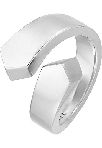 JETTE Silver Damen-Ring GLAM ROCK 925er Silber silber, 55 (17.5)
