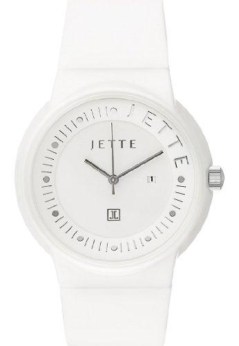 JETTE Time Damen-Armbanduhr Keramik Analog Quarz One Size, weiß, weiß