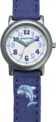 Jacques Farel Öko Kinderuhr Delphin ORG 6666
