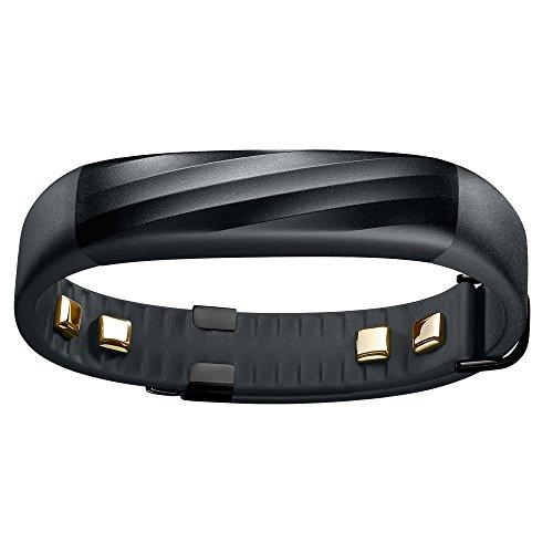 Jawbone UP3 Bluetooth Aktivitäts-/Schlaftracker-Armband (für Apple iOS und Android) schwarz