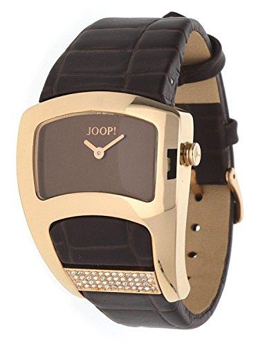 Joop! Damen-Armbanduhr Analog Quarz Leder JP100572S06U