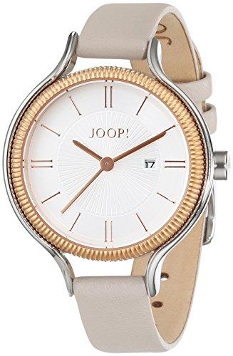 Joop! Damen-Armbanduhr Jessica Analog Quarz Leder JP101762005