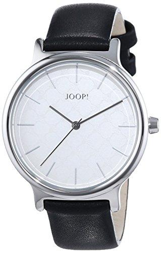 Joop! Damen-Armbanduhr Logo Signature Analog Quarz Leder JP101512001