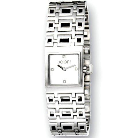 Joop! Damen-Armbanduhr XS Analog Quarz Edelstahl JP100292001U