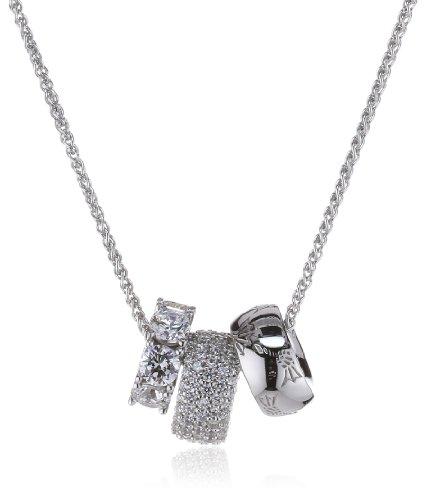 Joop Damen-Halskette 925 Sterling Silber Angelina Zirkonia weiÃY ca. 48 cm (45 + 3 cm) JPNL90476A420