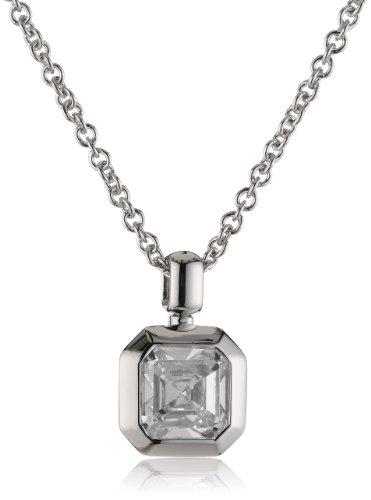 Joop Damen Halskette 925 Sterling Silber Zirkonia Keira 42.0 cm weiß JPNL90650A420