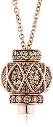 Joop Damen Halskette 925 Sterling Silber Zirkonia Mosaics 90.0 cm rosa JPNL90702C900